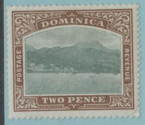 DOMINICA-27-MINT-HINGED-OG-NO-FAULTS-EXTRA-FINE