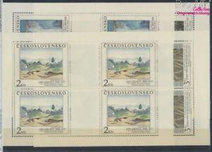 Tschechoslowakei-3069-3072-Kleinboegen-postfrisch-1990-Kunst-8776852