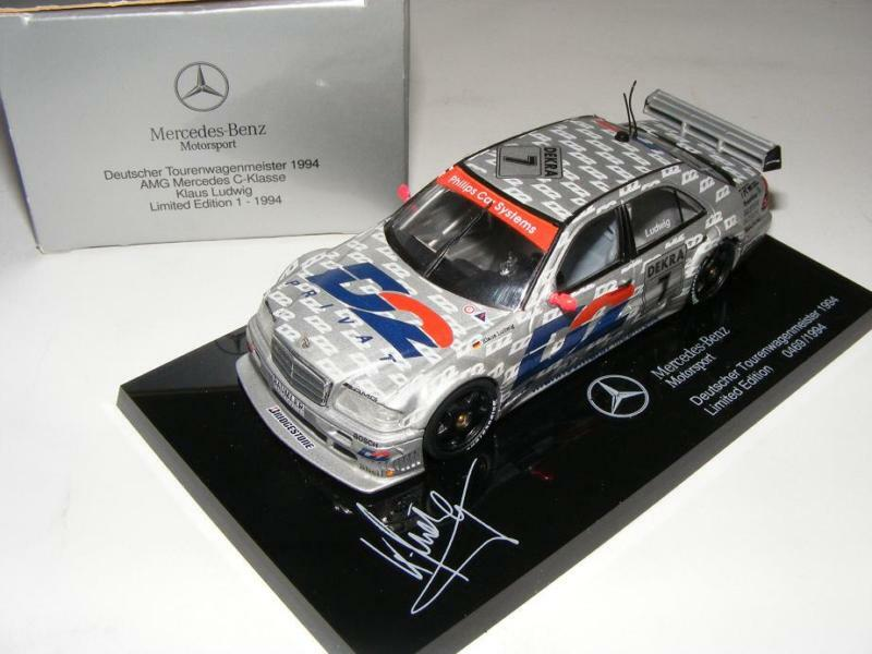 1 43 Minichamps AMG Mercedes C DTM 1994  Die Sieger