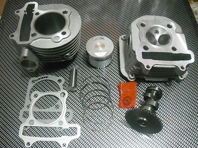 SCOOTER 150CC GY6 HIGH QUALITY OEM CYLINDER KIT CYLINDER HEAD RACING CAMSHAFT