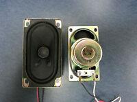 8 Ohm 2.5w (1 Pair) 90mm X 50mm X 40mm Hobby/project/tv/radio/lcd Speaker