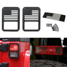 Tail Light Cover Rear Guard Protector For Jeep Wrangler Jk Unlimited 2007 2018 Fits Jeep