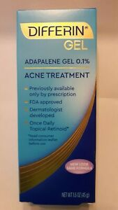 DIFFERIN-0-1-Adapalene-Gel-1-6-oz-Acne-Treatment-New-in-Box-Exp-06-21-or-later