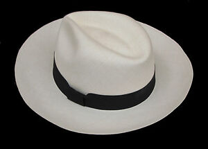 "Genuine Panama Hat from Montecristi /""Havana/"" 15 weaves Men Woman Straw Fedora"