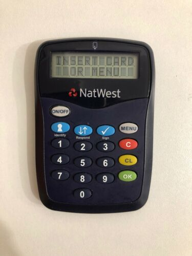 Business Office Industrial Pin Sentry Bank Card Reader Natwest Pinsentry Security Online Banking Access Asiathinkers