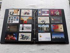 Außergewöhnliche 83 Stück A-Telefonkartensammlung (postfrisch, voll) Telekom