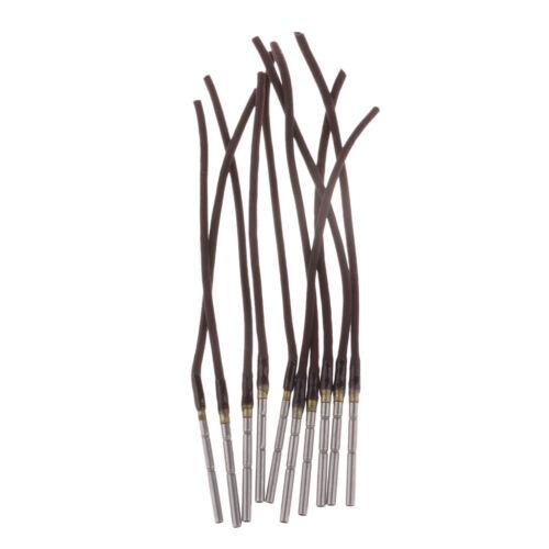 10 Stück Angelruten-Tipps Aus Nylonschnur und Edelstahl 1,5 mm
