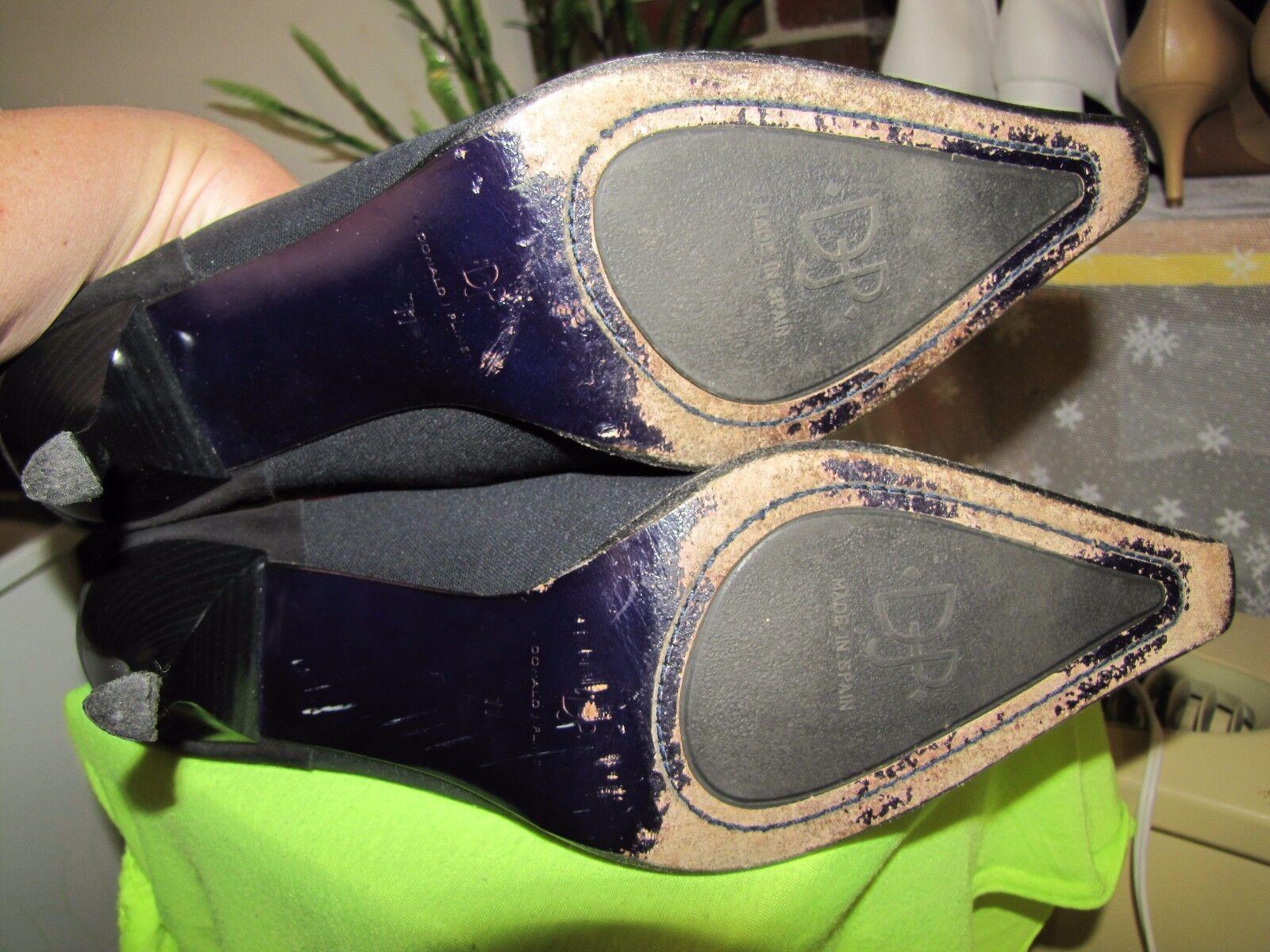 Donald J Pliner Pliner Pliner Black Mule Heel shoes size 11 M 697f72