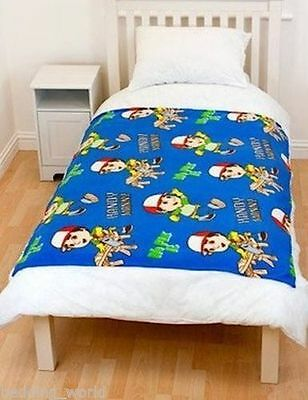 PINK GIRAFFE DESIGN FLEECE DESIGN SOFT FLEECE BLANKET COVER THROW CHILDREN