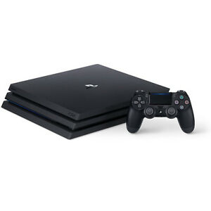NEW Sony PlayStation 4 PS4 Pro 1TB 4K HDR + HDMI + One DUALSHOCK 4 Controller