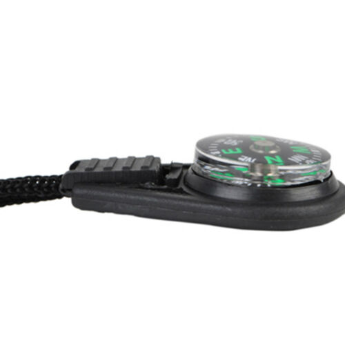 10pcs Key Chain Mini Pocket Compass Navigator for Outdoor Camping Caving Hiking