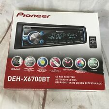 Pioneer DEH-X6700BT CD Receiver New