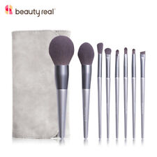 Beautyreal 8pcs Makeup with Bag Brushes Powder Foundation Eyeshadow Make Up Set