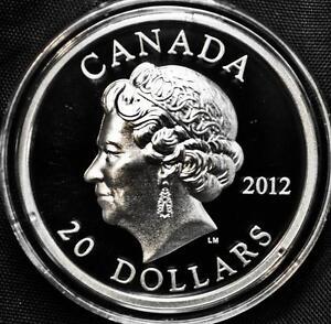 2012-Canada-20-Fine-Silver-Coin-Queen-039-s-Diamond-Jubilee-High-Relief