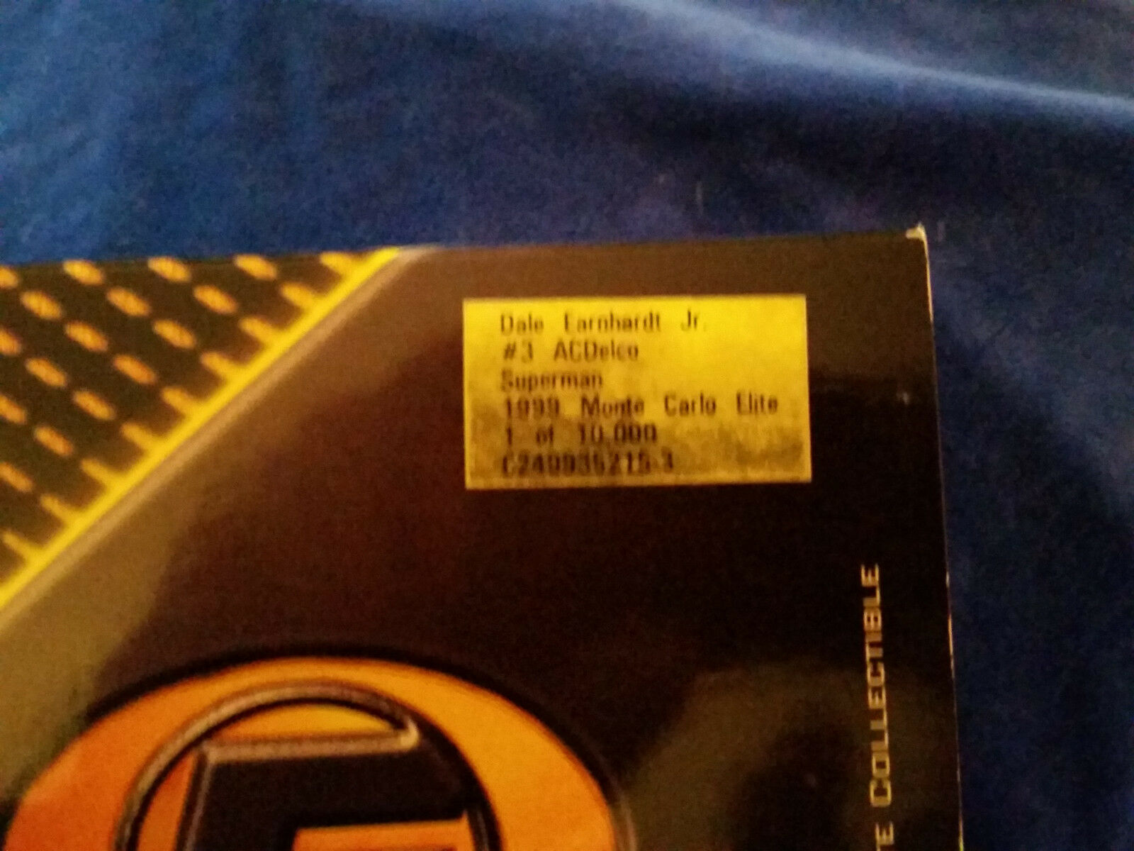 Dale Earnhardt Jr Diecast AC AC AC Delco   Superman 1 24 1999 Action Racing Elite 655de7