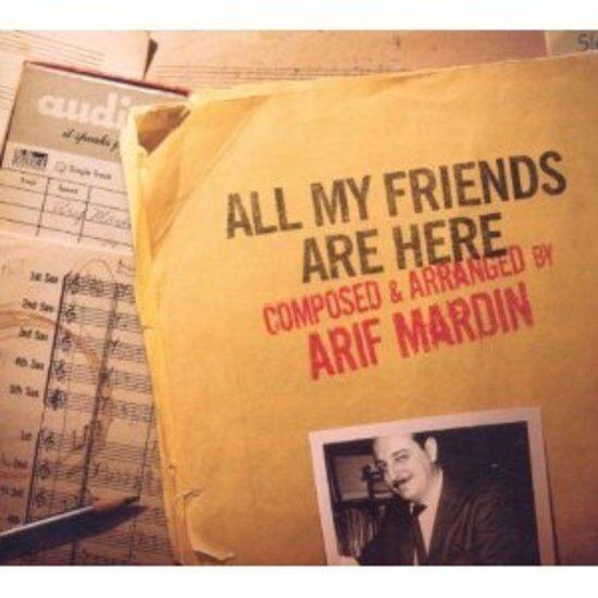 Mardin, Arif - All My Friends Are Here NORAH JONES DR. JOHN CD NEU OVP
