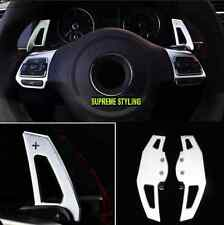 VW METAL DSG GEAR SHIFT STEERING WHEEL EXTENSION PADDLES GOLF POLO SCIROCCO GTI
