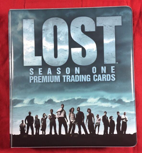 Inkworks Lost Season 1 Trading Card Binder New Collectors