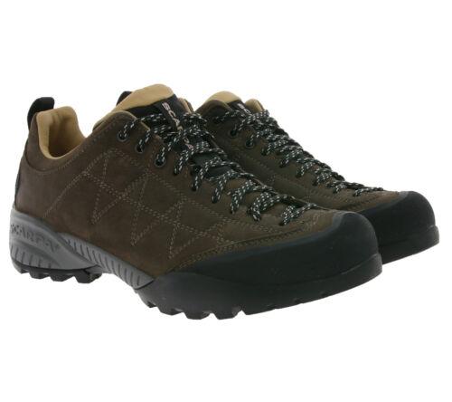SCARPA Trekking-Schuhe funktionelle Damen Echtleder Wander-Schuhe Zen Braun