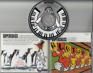 Details about SUPERGRASS Alright 1995 Japanese 11-track promo sample CD