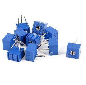10Pcs 3362P-103 P 3362 10K ohm High Precision Variable Resistor Potentiometer