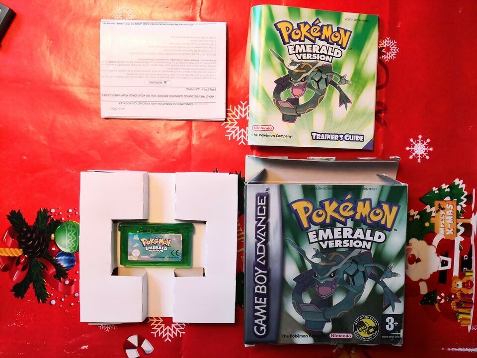 Pokemon emerald, Gameboy Advance