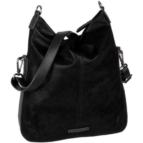 ESPRIT Silk Rauh Glänzend Damen Handtasche Flach Dünn Schulter Umhänge Tasche