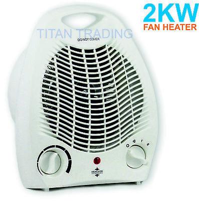 2000W 2KW ELECTRIC PORTABLE FAN HEATER HOT /& COOL C
