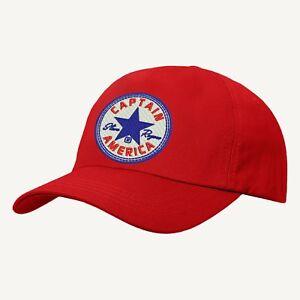 6f28c784d875d Image is loading Avengers-Captain-America-Logo-Baseball-Cap-Superheroes-Hat-