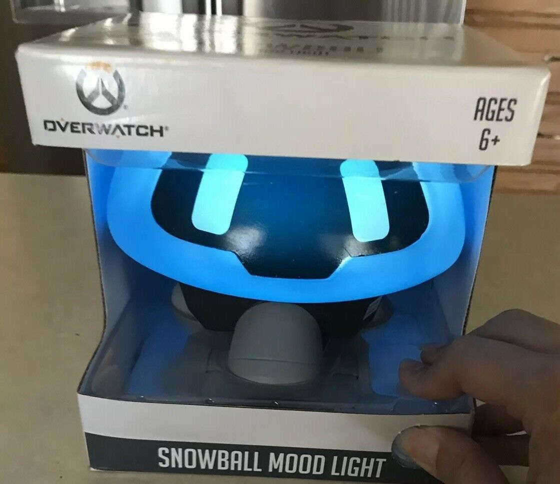 Overwatch Snowball Mood Light Lamp Figure Statue 5 5 5 1 2  Tall New c5ae32