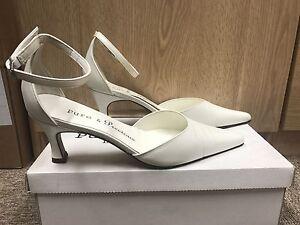 Détails Et Mariée Sur Pur Chaussure D'honneur Par Précieux Cuir Ivoire Fille Tailles Toutes N08mnwvO