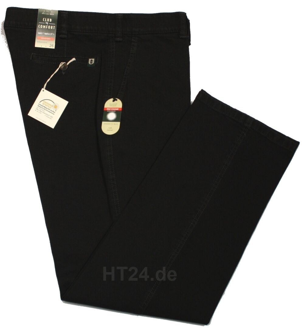 CLUB of COMFORT Jeans DALLAS black Gr. 24 - 31 + 26K - 35K Stretch (4631)