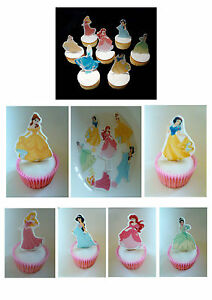disney sleeping beauty 24x edible stand up cup cake toppers wafer paper *precut*