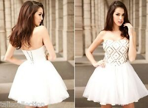 Sweetheart-Neckline-Occasion-Evening-Party-Sequin-Ballerina-White-Dress-30209