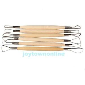 6PCS-Wax-Pottery-Clay-Modeling-Sculpture-Carving-Shapers-Tool-DIY-Craft-Ceramic