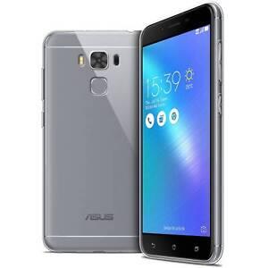 """Amical Coque Pour Asus Zenfone 3 Max Plus Zc553kl (5.5"""") Crystal Souple Tpu Gel Transpa Top PastèQues"""