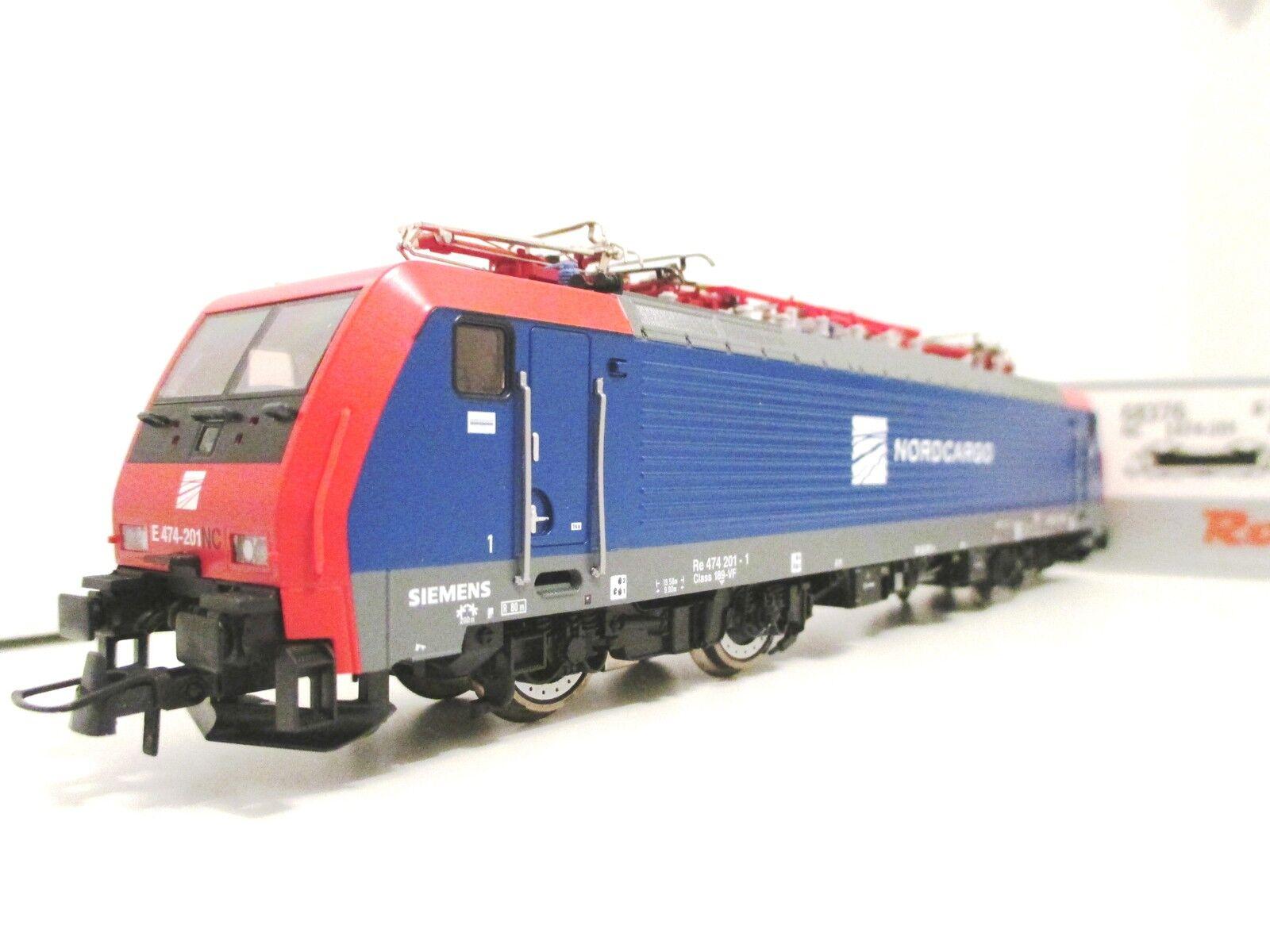 Roco H0 68376 E-Lok 474 Nord Cargo Wechselstrom AC digital  Neu für Märklin