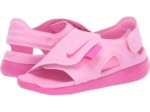 Details about New Nike Toddler Girls Sunray Adjust 5 Sandals Size 6Y MSRP  $35.00