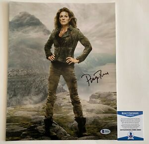 Paige-Turco-Autographed-The-100-11x14-Photo-Signed-TMNT-April-Oneil-Beckett-COA