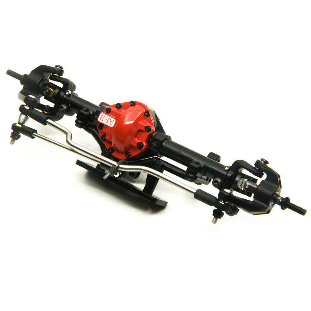 ARB Edition Alloy Front Axle rosso For 1:10 Scale RC Crawler D90 AXIAL SCX10 4WD