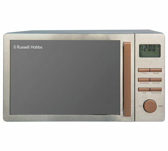 Russell Hobbs Luna 800W Standard Microwave RHMDL801CP Copper Luna Microwave nouveau