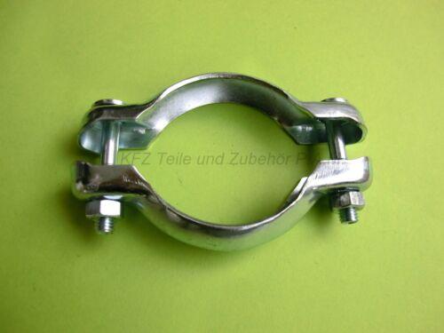 1 x Auspuffschelle 72 mm Rohrschelle Klemmschelle Rohrverbinder Fiat Toyota