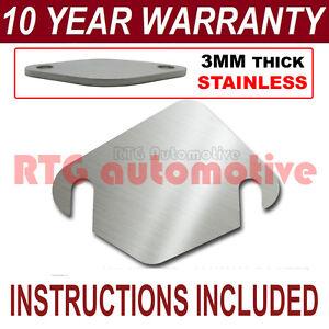 Chevrolet Matiz Multi Fit vanne EGR Plaque d/'obturation inoxydable 1.5 mm HC