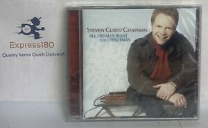(JB) Steven Curtis Chapman-All I Really Want For Christmas  CD Factory Sealed