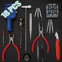 GC16pc Watch Repair Tool Kit Band Pin Remover Back Opener Screwdriver US SHIPPER