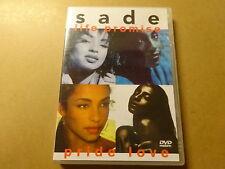 MUSIC DVD / SADE: LIFE PROMISE - PRIDE LOVE
