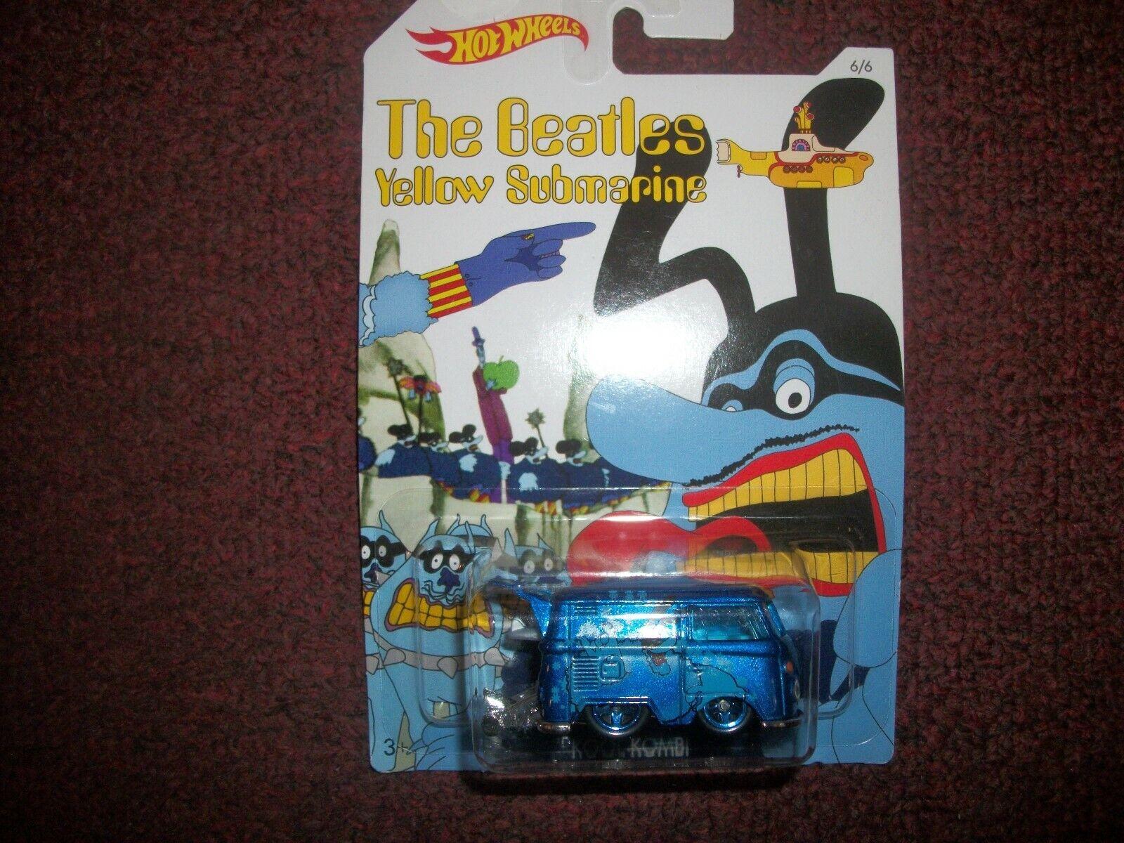 Envio gratis en todas las ordenes The Beatles-amarillo Submarine Hotwheels Coches Coches Coches Lote De 6 -- Todo Sellado   Envío 100% gratuito