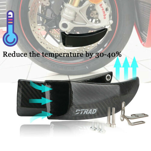 Carbon Fiber Air Duct Brake Cooling Mounting Kits for BMW S1000RR S1000XR S1000R