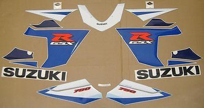 GSX-R 750 2005 decals stickers graphics kit set k4 k5 2004 autocollants adhesivi