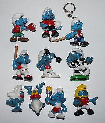 Appena Lotto 10 Puffi Differenti Puffo Smurf Smurfs Schtroumpf Schleich Peyo 012 Sconti Prezzo